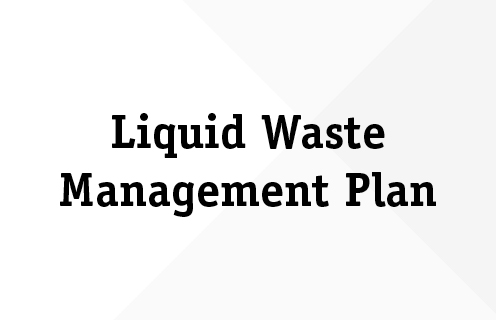 Liquid Waste Management Plan  The Village Of Cumberland