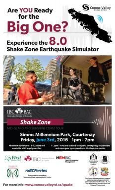 2016 Shake Zone poster