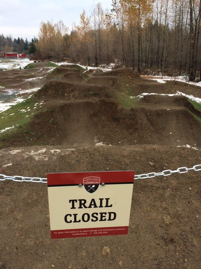 Trail Closed for the Season